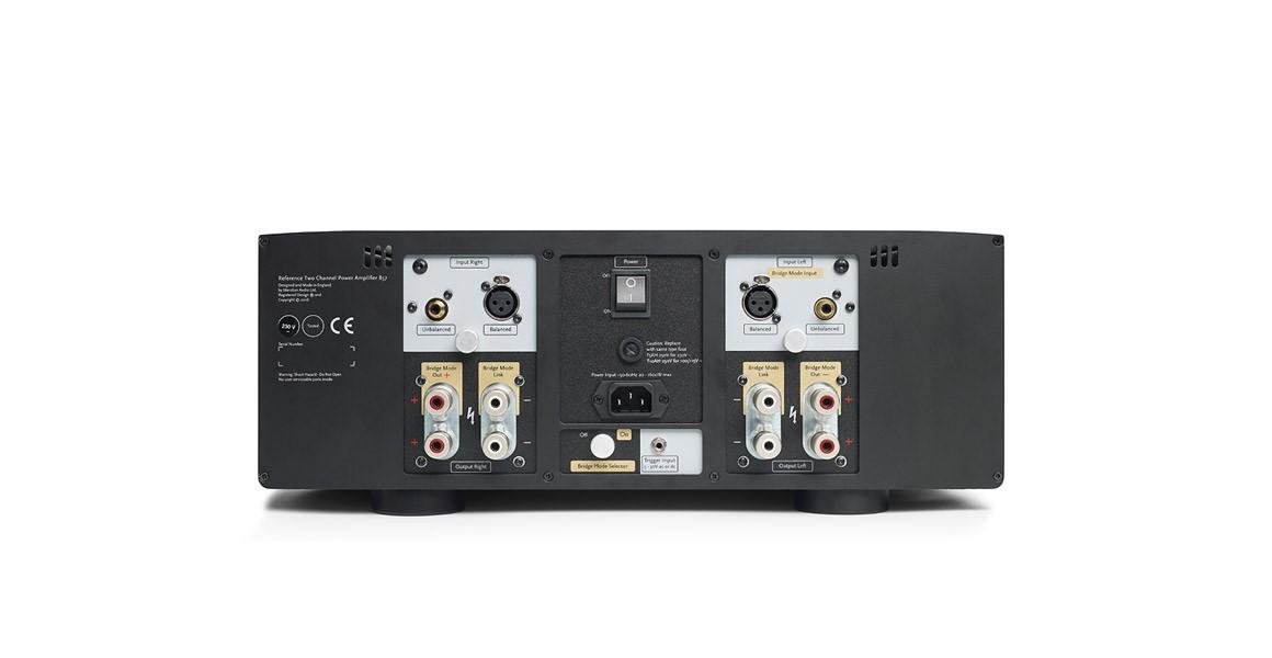 Meridian 857 Power Amplifier Rear