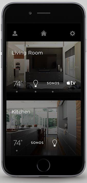 Savant home automation interface